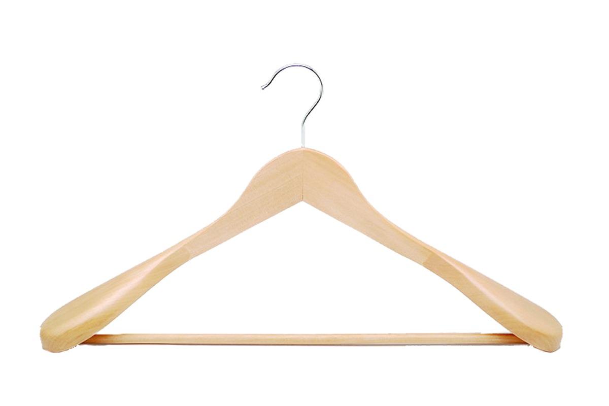 Κρεμάστρα Ξύλινη Σακάκι- Παλτό