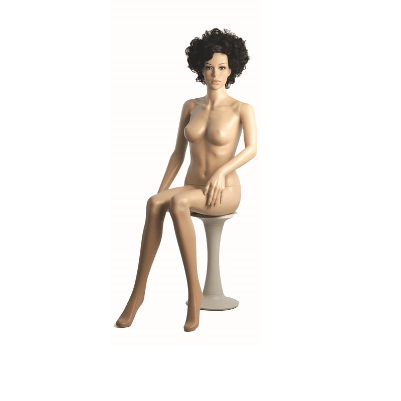 Κούκλα Βιτρίνας Γυναικεία Πλαστική Καθιστή