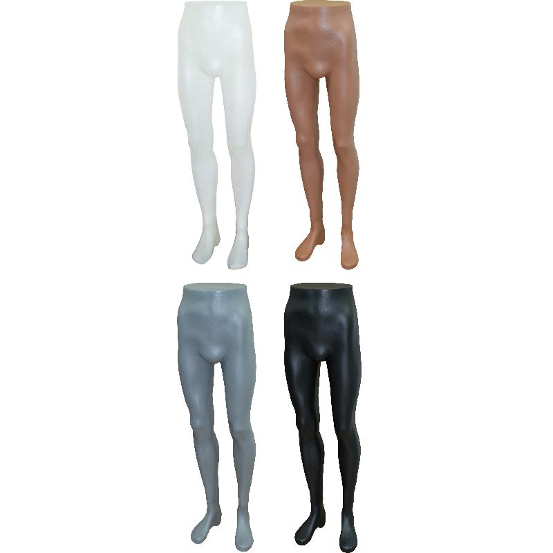 Κωδικοί Προϊόντων: 5011-01: Λευκό 5011-02: Φυσικό Μπεζ 5011-03: Γκρι 5011-04: Μαύρο Πόδια Ανδρικά για Παντελόνι