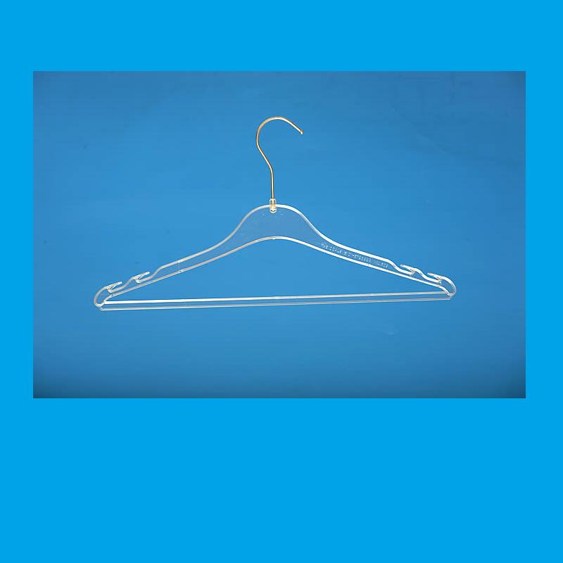 Κρεμάστρα Πλαστική Μπλούζα Φόρεμα (300 τεμάχια)