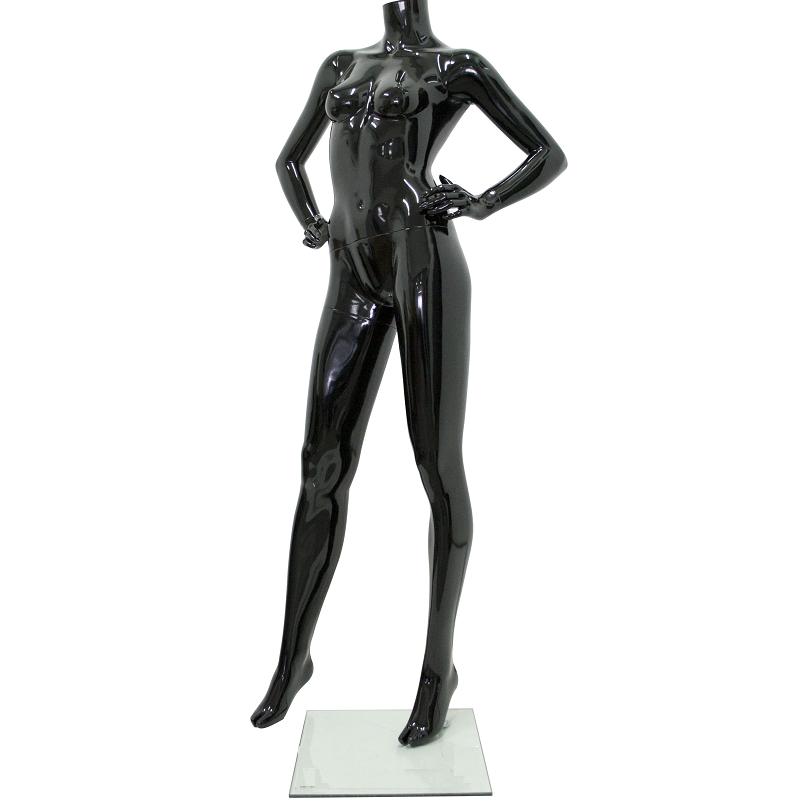 Κούκλα Βιτρίνας Γυναικεία Ακέφαλη Μαύρη Γυαλιστερή Θεσσαλονίκη 425f9ff4cbf
