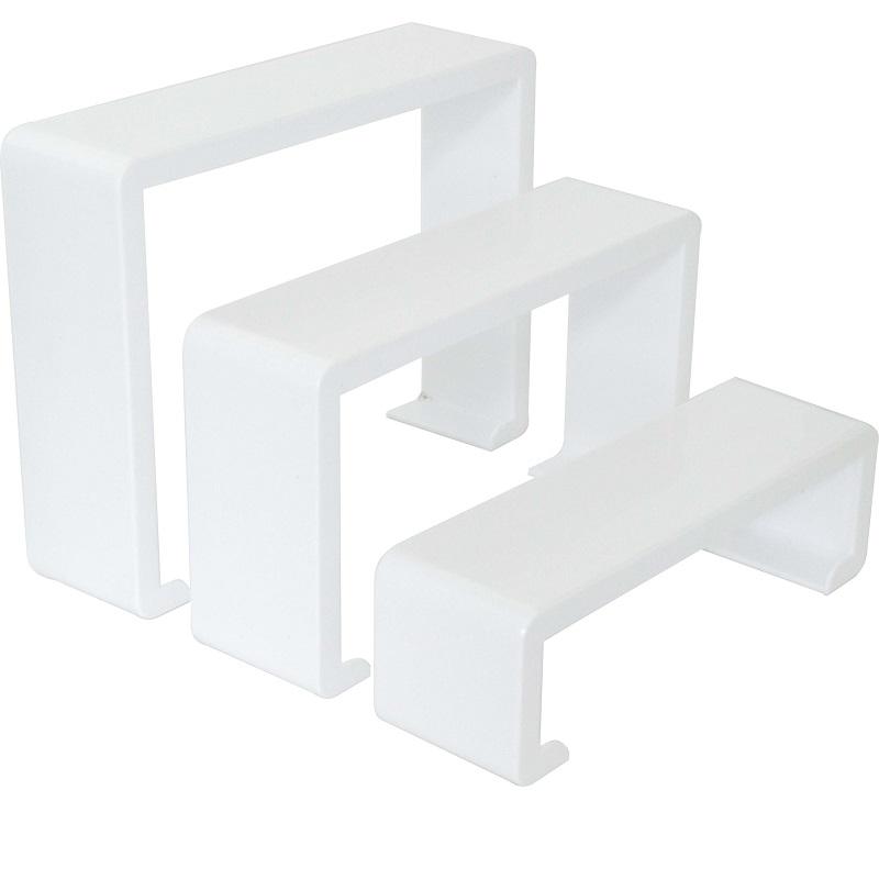 Ραφάκια Ακρυλικά για Παπούτσι - Λευκό Γαλακτερό