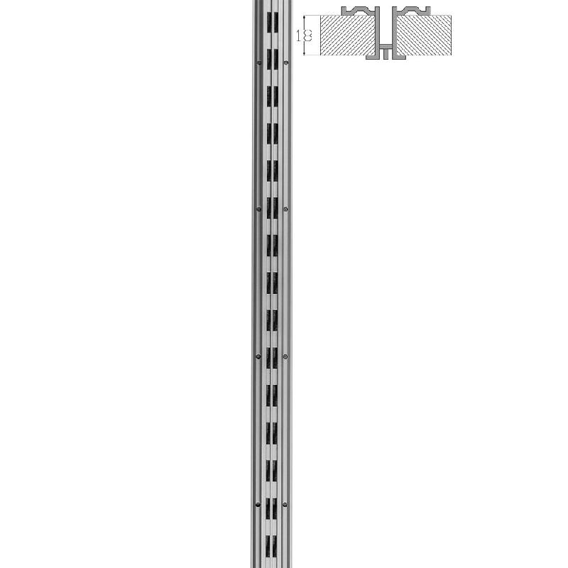 Κολώνα Αλουμινίου Alias - Διπλή Διάτρηση