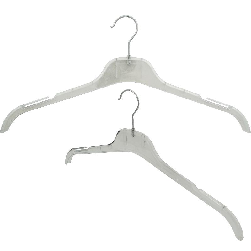 Κρεμάστρα Μπλούζας Διάφανη (Συσκευασία 350 Τεμαχίων)