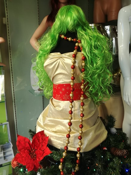Tailor mannequin is the new Christmas tree…